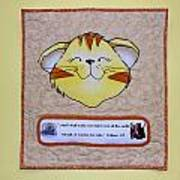 Quilted Cat  Poster