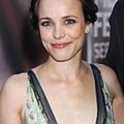 Rachel Mcadams At Arrivals For The Poster by Everett