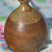 Rare John Regis Tuska Pottery Vase Poster
