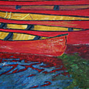 Red Boats Poster