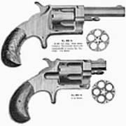 Revolvers, 19th Century Poster