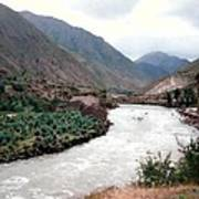 River Urubamba Through The Sacred Valley Of The Incas Poster by Ronald Osborne