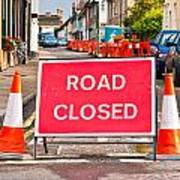 Road Closed Poster