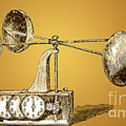 Robinsons Anemometer, 1846 Poster
