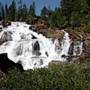 Running Water Glen Alpine Falls Poster