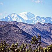 San Gorgonio Mountains Poster
