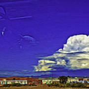 Santa Fe Drive - New Mexico Poster