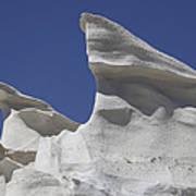 Sarakiniko White Tuff Formations Poster
