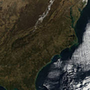 Satellite View Of The Southeastern Poster