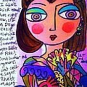 Scarlett O'hara Poster
