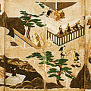 Scenes From The Tale Of Genji Poster