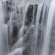 Scenic Waterfall In Borneo Rain Forest Poster