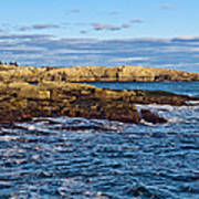 Schoodic Point Acadia National Park Poster