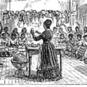 Segregated School, 1870 Poster by Granger