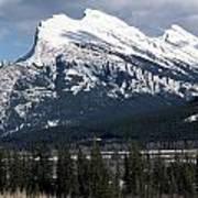 Sharp Rundle Peaks Poster