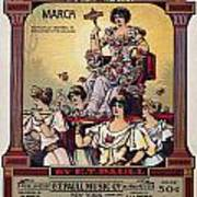 Sheet Music Cover, 1916 Poster