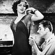 Silent Film Still: Sewing Poster