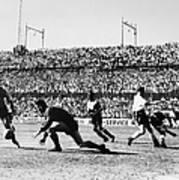 Soccer Match, 1930s Poster
