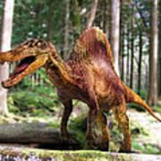 Spinosaurus Dinosaur Poster