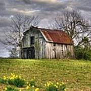 Spring Time Barn Poster