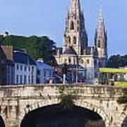 St. Finbarres Cathedral, Cork, Co Cork Poster
