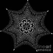 Star Fish Kaleidoscope Poster