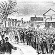Striking Women, 1860 Poster