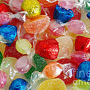 Sweet Candies Poster