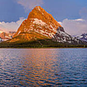 Swiftcurrent Lake Panorama Poster
