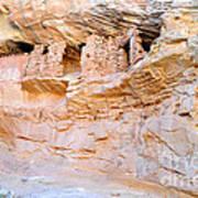 Target - Bulls Eye Anasazi Indian Ruins Poster
