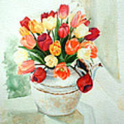 Tea For Tulips Poster