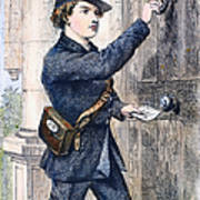 Telegraph Messenger, 1869 Poster