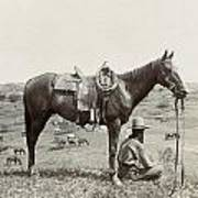 Texas: Cowboy, C1910 Poster