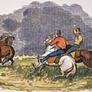 Texas Cowboys, C1850 Poster