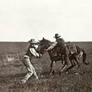 Texas: Cowboys, C1908 Poster