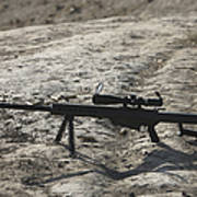 The Barrett M82a1 Sniper Rifle Poster