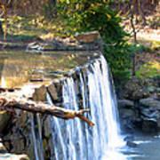 The Dam At Cedarock Poster
