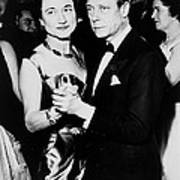 The Duke And Duchess Of Windsor Poster by Everett
