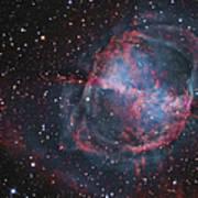 The Dumbbell Nebula Poster
