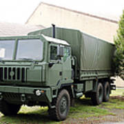 The Iveco M250 8 Ton Truck Used Poster