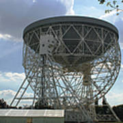 The Lovell Telescope At Jodrell Bank Poster
