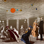 The New Planetarium In Paris, 1880 Poster