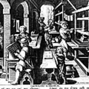 The Printing Of Books Poster