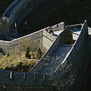 The Simatai Section Of The Great Wall Poster