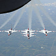 The U.s. Air Force Thunderbird Poster
