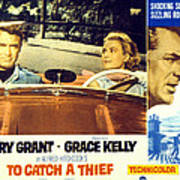 To Catch A Thief, Poster Art, Cary Poster by Everett