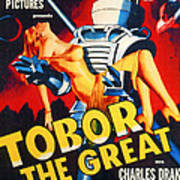 Tobor The Great, 1954 Poster by Everett
