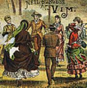 Trade Card, C1880 Poster