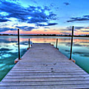 Tranquil Dock Poster
