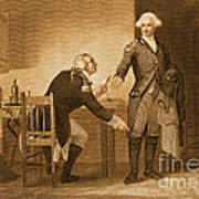 Treason Of Benedict Arnold, 1780 Poster by Photo Researchers